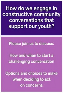 Circle Up! Community Forum:  Challenging Conversations