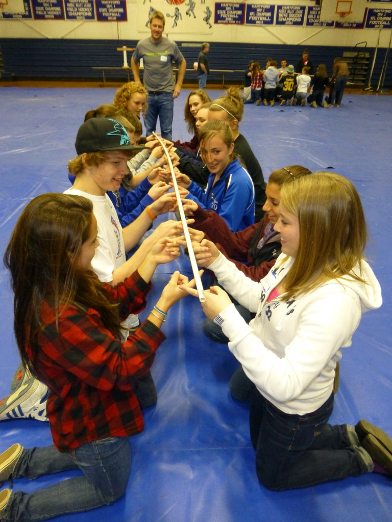 Coaching for Captains teamwork activity photo