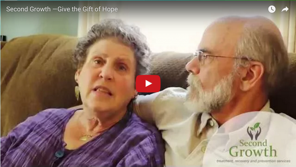 still from Give the Gift of Hope video